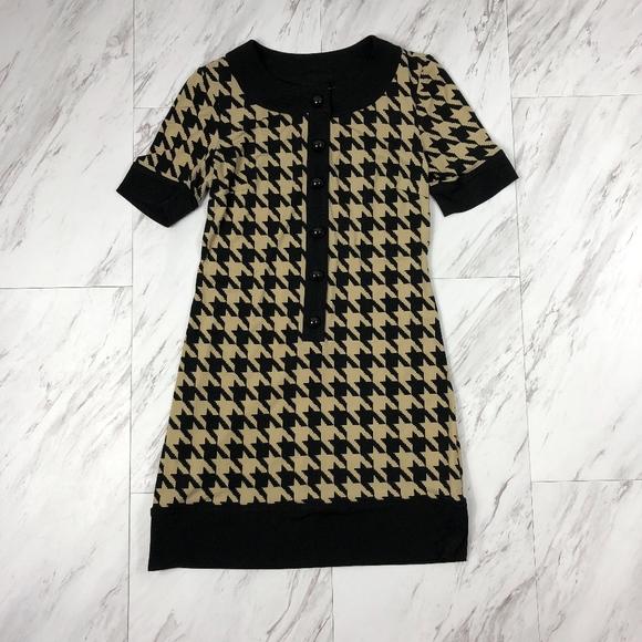 6fba22ff04c Kim Rogers Dresses | Hounds Tooth Dress Size 2 Petite Euc | Poshmark